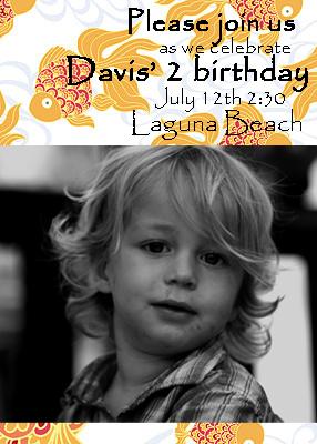 Davis 2nd Bday